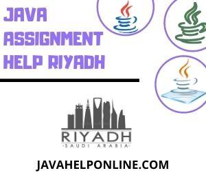 Java Assignment Help Riyadh