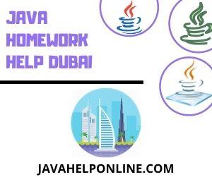 Java Homework Help Dubai