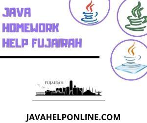 Java Homework Help Fujairah
