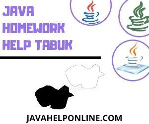 Java Homework Help Tabuk