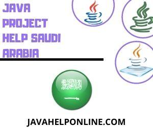 Java Project Help Saudi Arabia