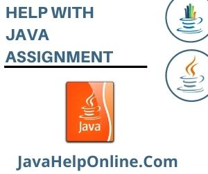 Help With Java Assignment