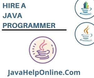 Hire A Java Programmer