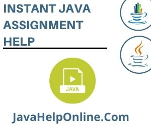 Instant Java Assignment Help